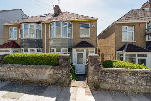 3 bed semi-detached house for sale in South Down Road, Beacon Park, Plymouth. PL2