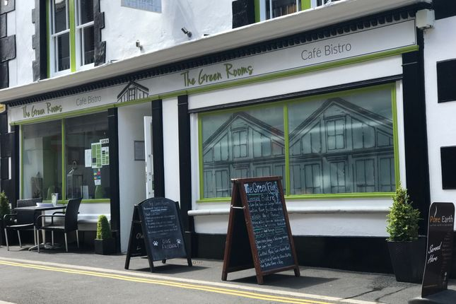 Thumbnail Restaurant/cafe for sale in 25-26 Mill Street, Bideford, Cornwall