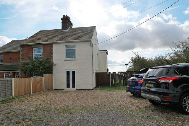 Thumbnail Semi-detached house for sale in Hall Cottages, Tinker St, Ramsey, Harwich