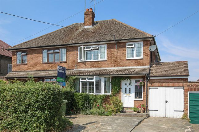 Thumbnail Semi-detached house for sale in Middle Road, Ingrave, Brentwood