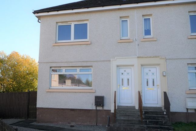 Thumbnail End terrace house for sale in Dollar Park, Motherwell