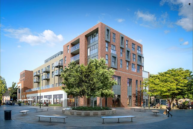 Thumbnail Flat for sale in Albion Way, Horsham