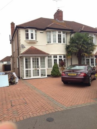 Thumbnail Semi-detached house to rent in Shelley Crescent, Hounslow