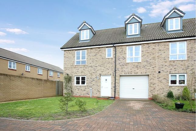 Thumbnail End terrace house for sale in The Rydons, Exeter