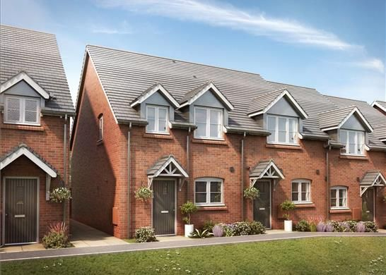 Thumbnail Terraced house for sale in Elmley Road, Evesham, Worcestershire