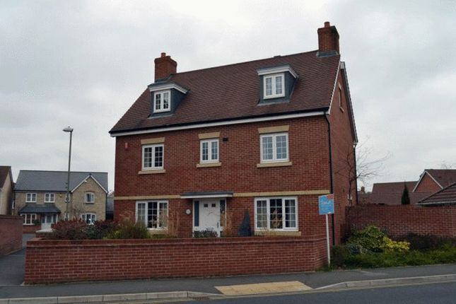 Thumbnail Detached house to rent in Woodvale Kingsway, Quedgeley, Gloucester