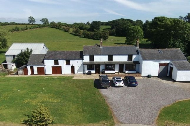 Thumbnail Detached house for sale in Ghyll Farm, Westnewton, Wigton, Cumbria