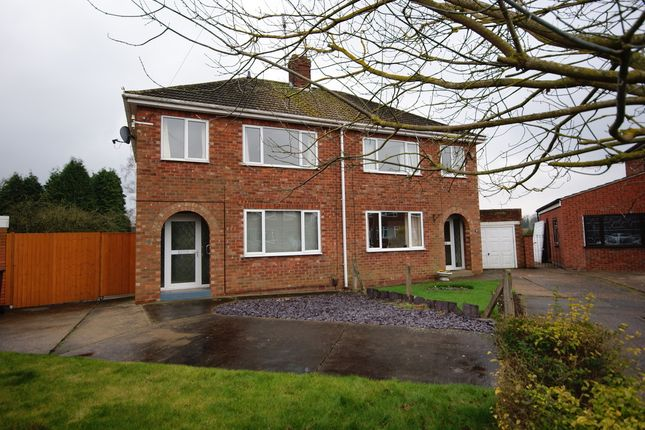 Thumbnail Semi-detached house to rent in Lansdowne Avenue, Lincoln
