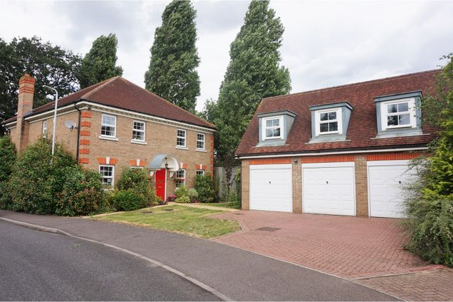 Thumbnail Detached house for sale in Dickens Way, Romford