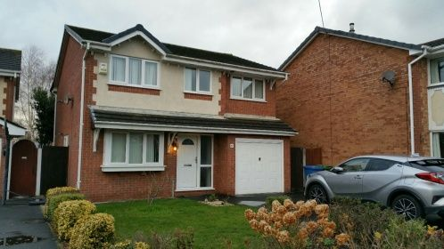 Thumbnail Detached house to rent in Wensleydale Close, Great Sankey, Warrington