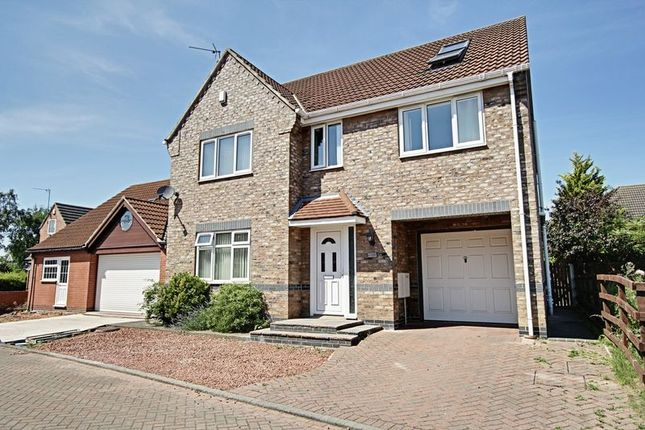 Thumbnail Detached house for sale in St. Michaels Drive, Hedon, Hull