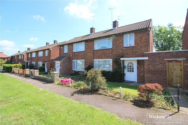 Thumbnail Semi-detached house for sale in Manor Way, Borehamwood