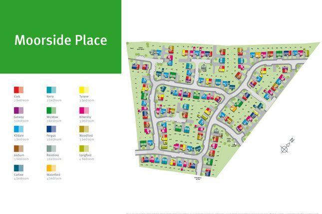 Site Plan of Plot 124, The Cork, Moorside Place, Valley Drive, Carlisle CA1