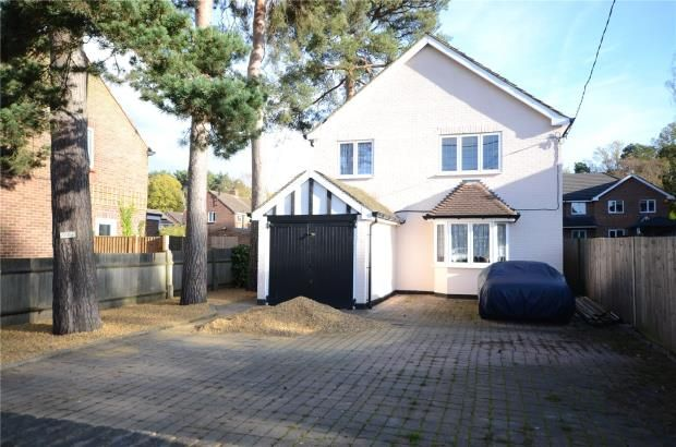 Thumbnail Detached house for sale in College Road, College Town, Sandhurst