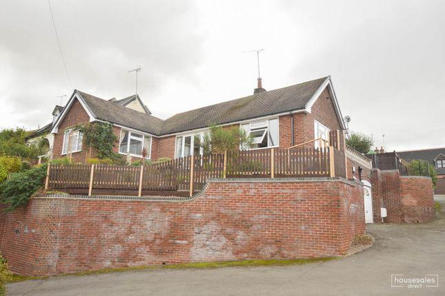 Thumbnail Detached bungalow for sale in Burton Street Tutbury, Burton-On-Trent