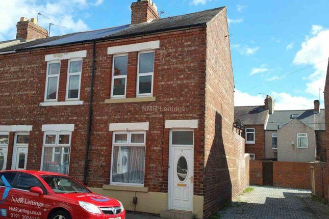 Thumbnail End terrace house to rent in Grainger Street, Darlington
