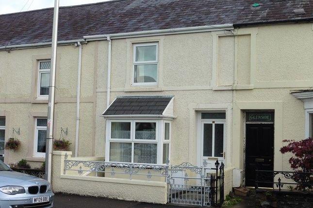 Thumbnail Terraced house for sale in Towy Terrace, Ffairfach, Llandeilo, Carmarthenshire.