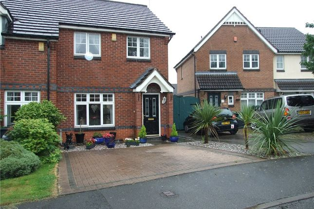 Thumbnail Town house for sale in Lavender Gardens, Heanor