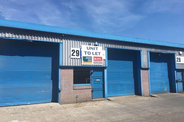 Thumbnail Industrial to let in Unit 29, Albion Industrial Estate, Cilfynydd, Pontypridd