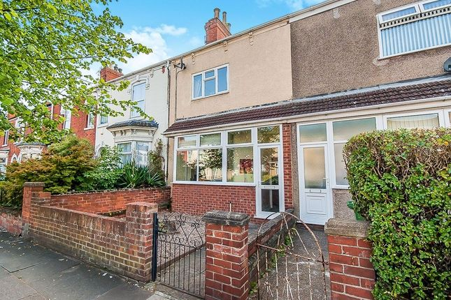 Thumbnail Terraced house to rent in Hainton Avenue, Grimsby