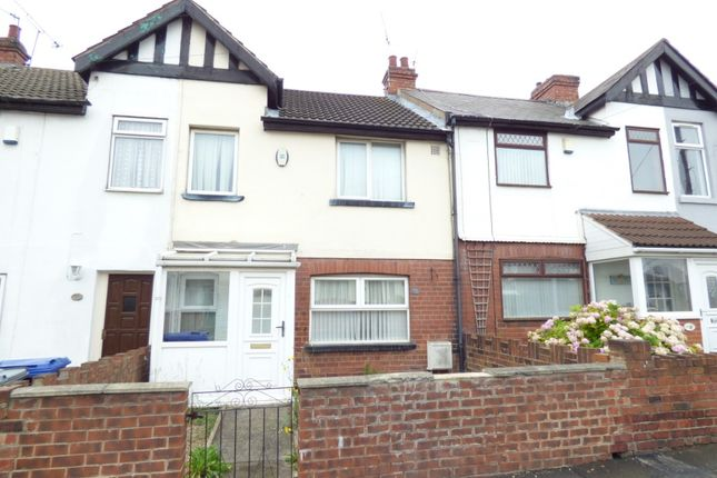 3 bed terraced house to rent in Wellington Road, Edlington, Doncaster DN12