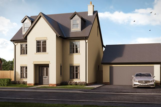 Thumbnail Detached house for sale in Usk Field, Llanishen, Cardiff