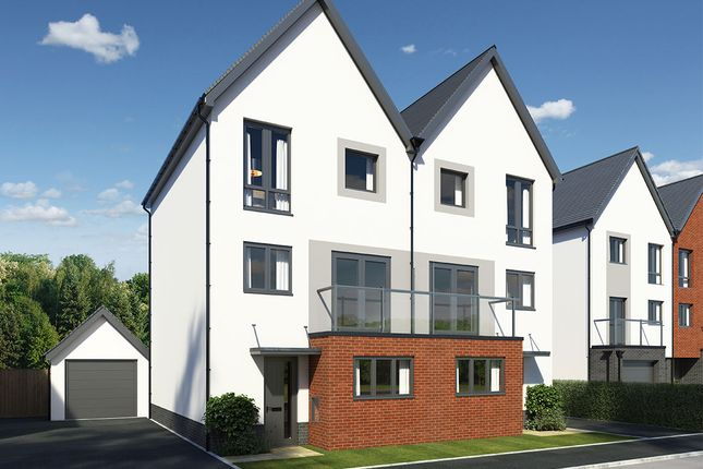"Thumbnail Semi-detached house for sale in ""Loughor"" at Llantrisant Road, Cardiff"