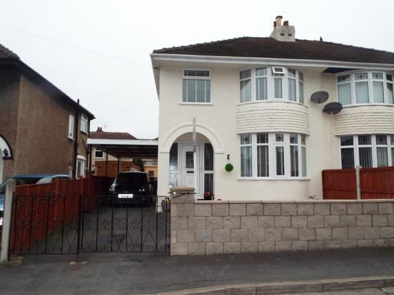 Thumbnail Semi-detached house for sale in Walton Crescent, Llandudno Junction, Conwy