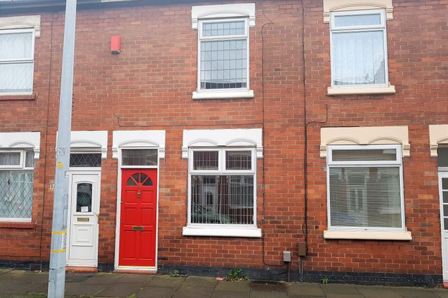 Thumbnail Terraced house to rent in Coronation Road, Hartshill, Stoke-On-Trent