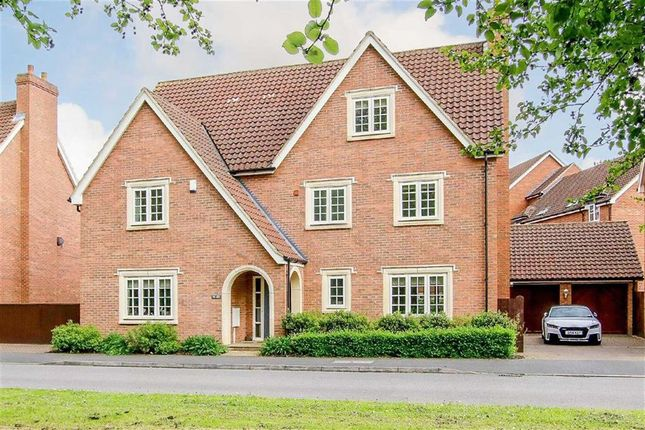 Thumbnail Detached house for sale in Woodall Close, Middleton, Milton Keynes
