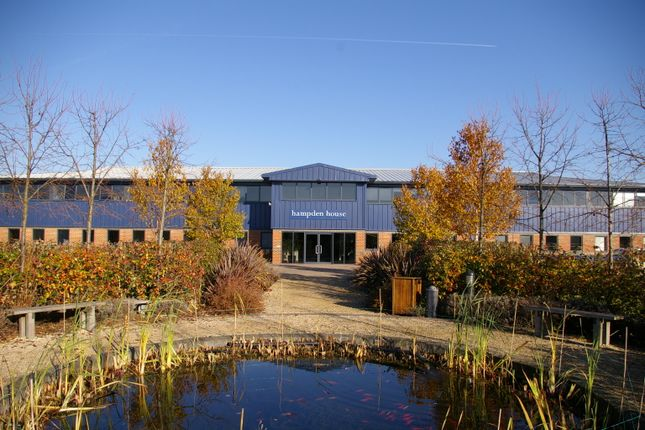 Office to let in Hampden House, Monument Business Park, Warpsgrove Lane, Chalgrove, Oxon.