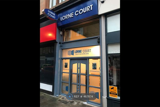 Thumbnail Flat to rent in Lorne Court, Greenock