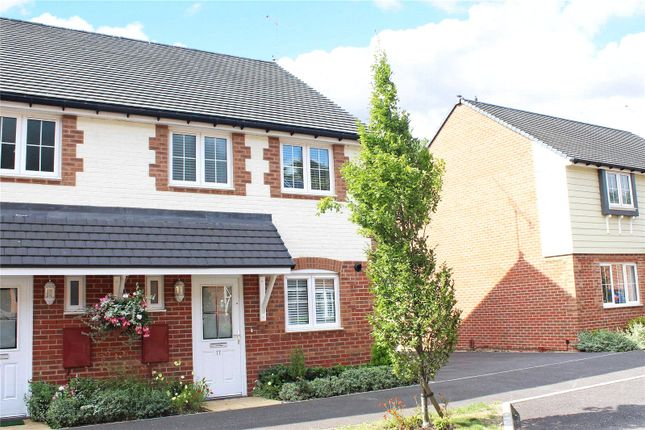 Thumbnail End terrace house to rent in Brougham Grove, Angmering, Littlehampton