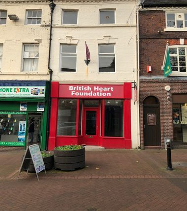 Thumbnail Retail premises to let in 8 Ironmarket, Newcastle-Under-Lyme, Staffordshire