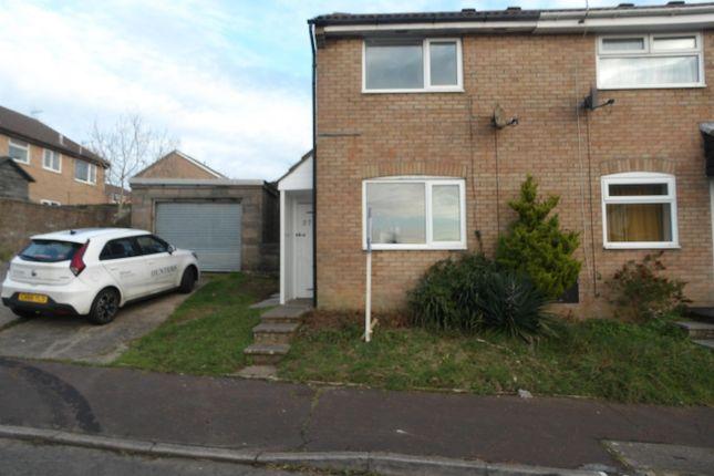 Thumbnail Semi-detached house to rent in Hazeldene Avenue, Brackla, Bridgend