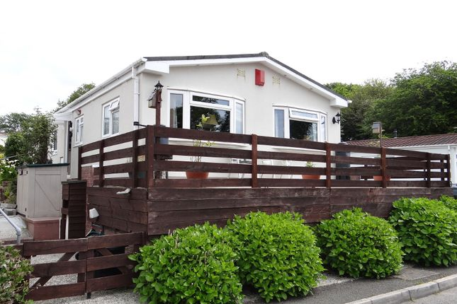 Thumbnail Mobile/park home for sale in Trewhiddle Park, St Austell