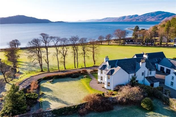 Thumbnail Detached house for sale in Cuilcheanna House, Onich, Fort William