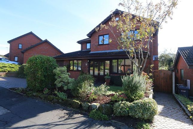 Thumbnail Detached house for sale in Badger Brow Road, Loggerheads, Market Drayton, Staffordshire