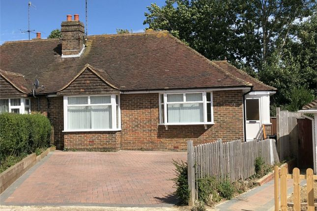 Thumbnail Semi-detached bungalow for sale in Pembury Grove, Bexhill On Sea, East Sussex