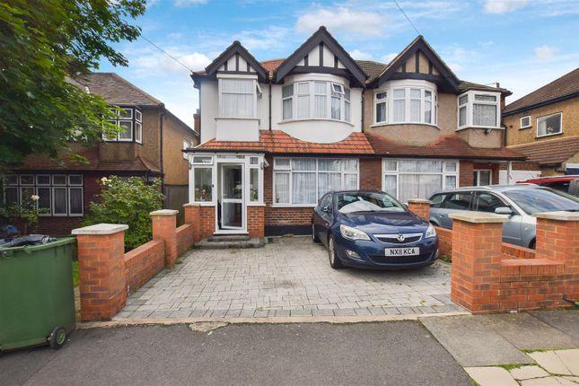 Thumbnail Semi-detached house to rent in Cavendish Avenue, Sudbury Hill, Harrow