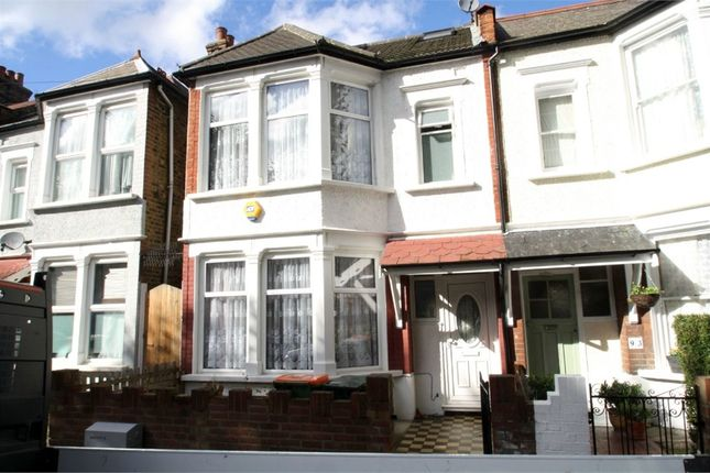 Thumbnail End terrace house for sale in Montpelier Gardens, East Ham, London