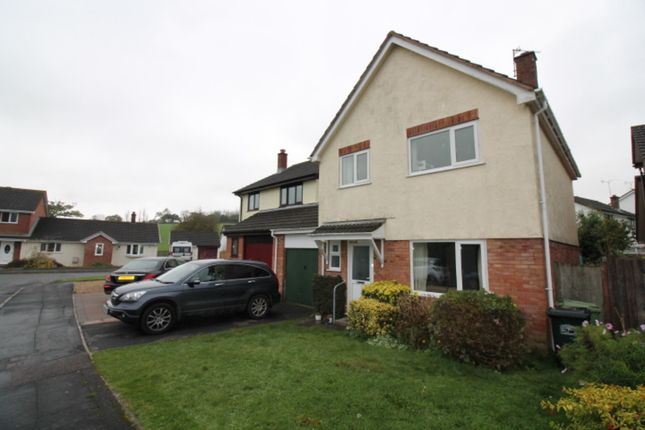 Thumbnail Detached house to rent in Fulton Close, Ipplepen, Newton Abbot