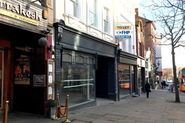 Thumbnail Retail premises to let in 2-4 Chapel Bar, Nottingham, Nottingham