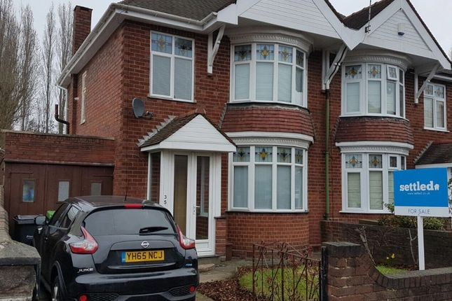 Thumbnail Semi-detached house for sale in Compton Road, Cradley Heath, West Midlands B645Bb
