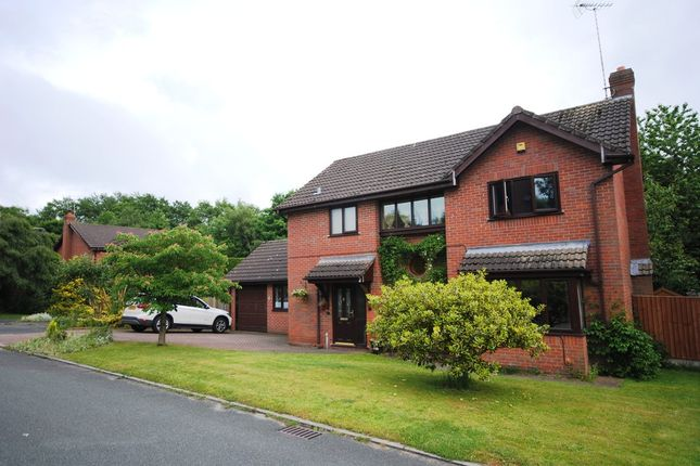 Thumbnail Detached house for sale in Chartwood, Loggerheads, Market Drayton