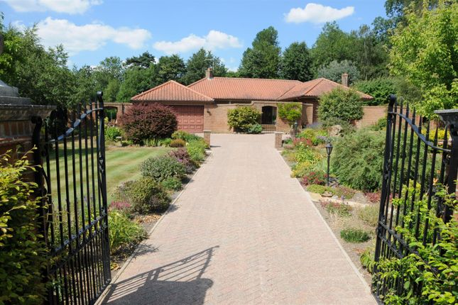 Thumbnail Detached bungalow for sale in Old Bolingbroke, Spilsby