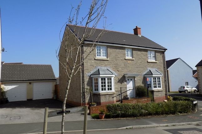 Thumbnail Detached house for sale in Maes Yr Eithin, Coity, Bridgend.