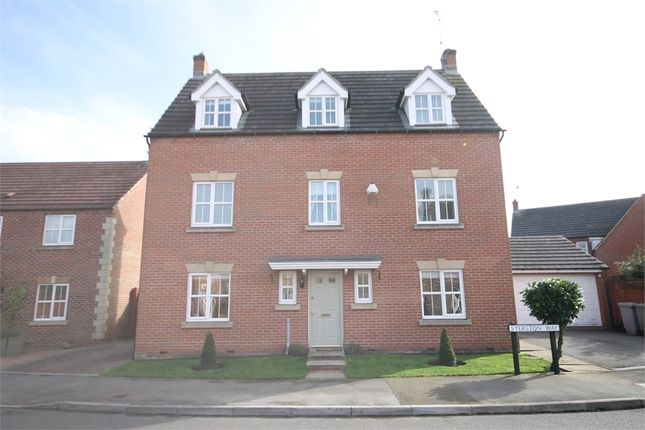 Thumbnail Detached house for sale in Syerston Way, Newark, Nottinghamshire.