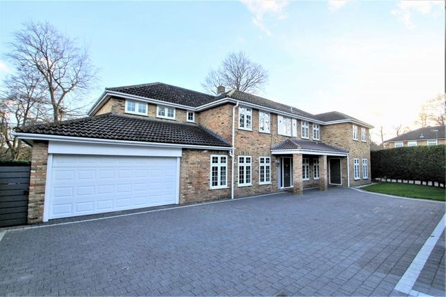 Thumbnail Detached house for sale in Westmorland Drive, Camberley, Surrey