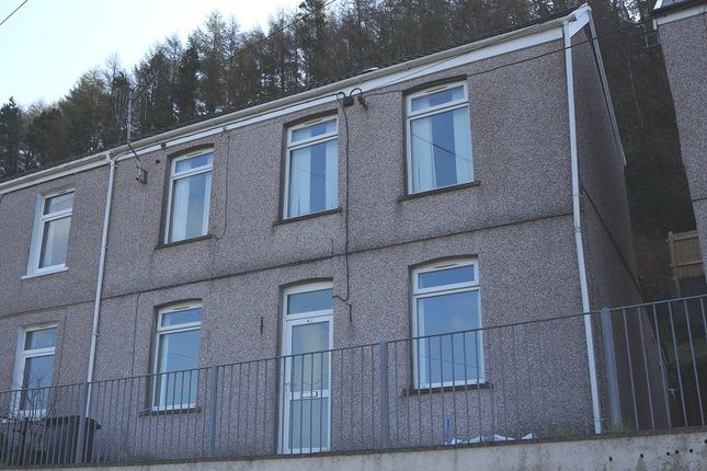Thumbnail Semi-detached house to rent in Dyffryn Road, Alltwen, Pontardawe, Swansea, City And County Of Swansea.